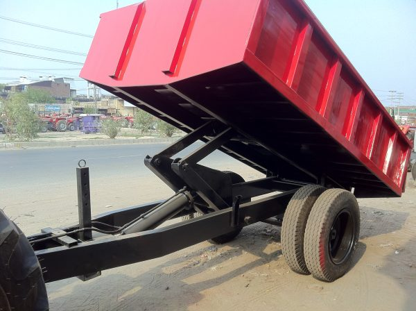 Hydraulic Tipping Trolley Pakistan