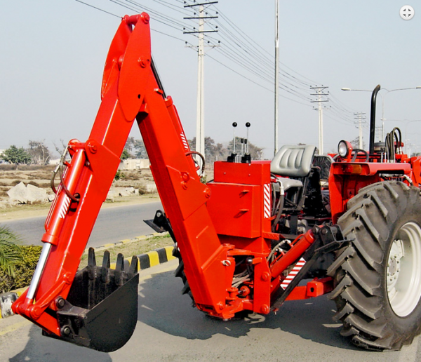 Tracto Backhoe Pakistan